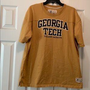 Georgia Tech jersey style tee